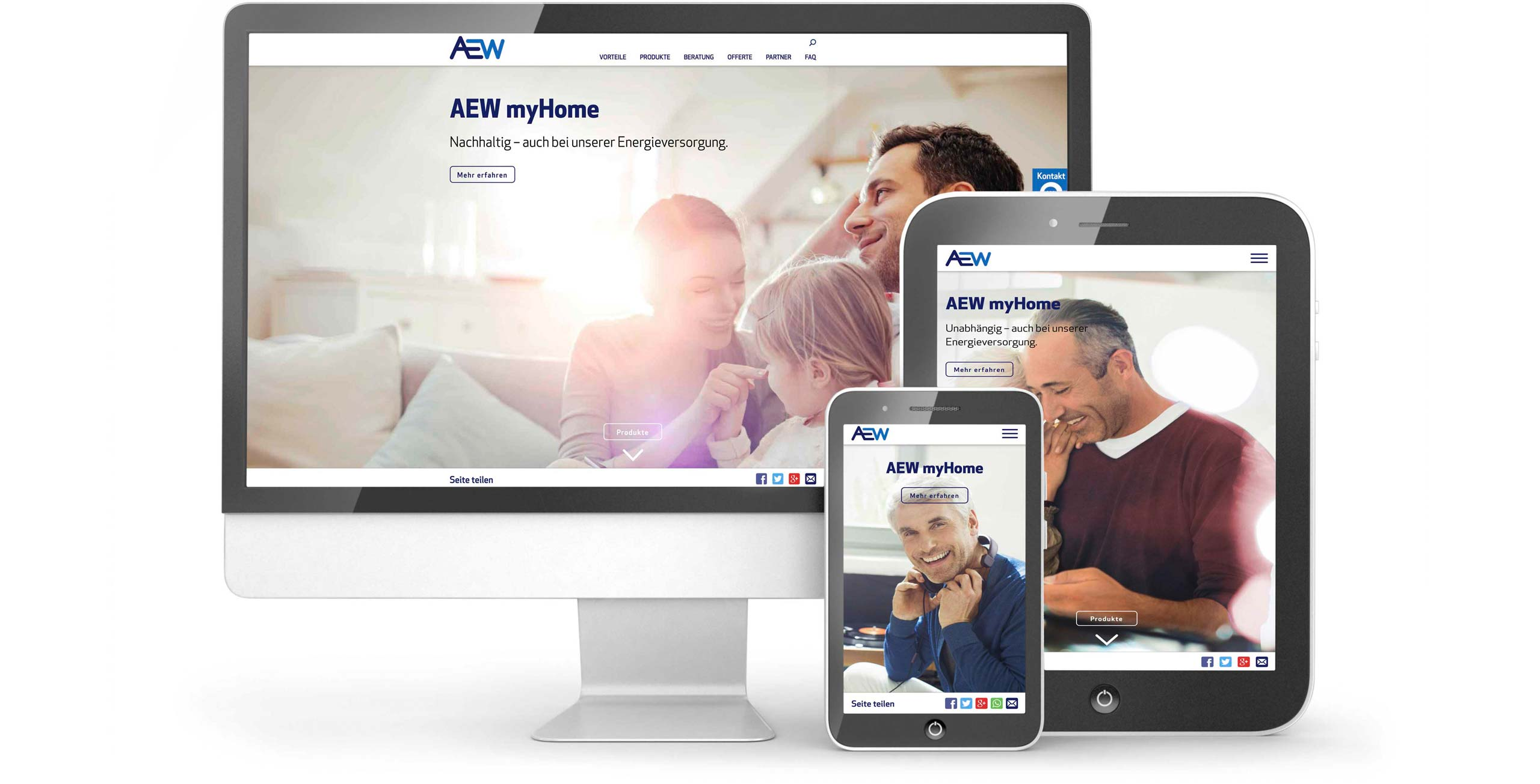 AEW MyHome, Website