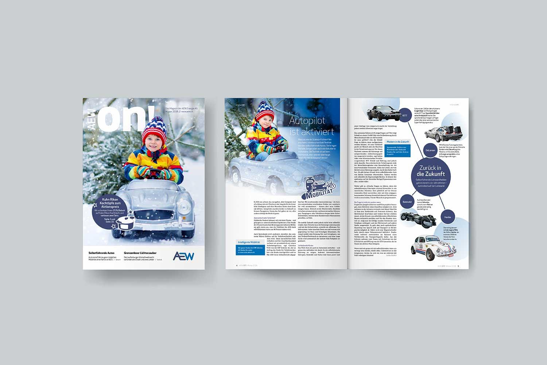 Energiemagazine, AEW ON!