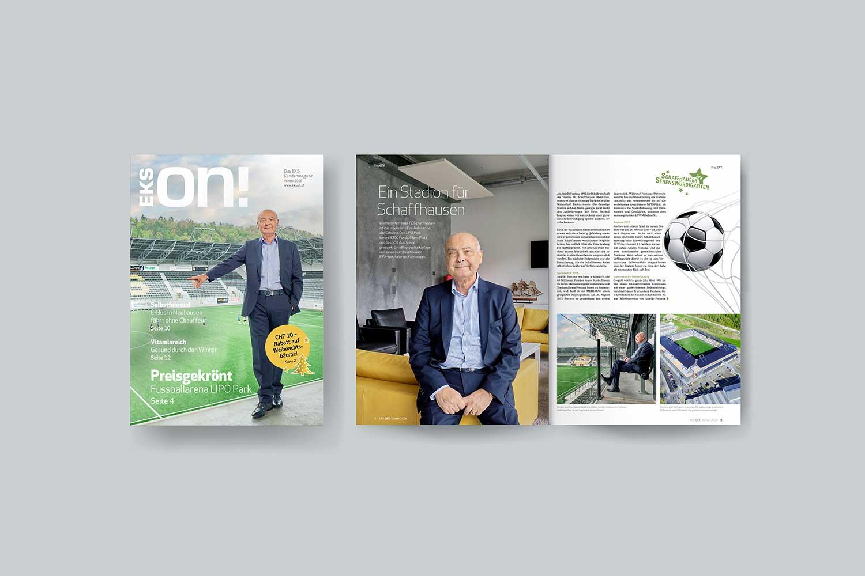 Kundenmagazine, EKS ON!