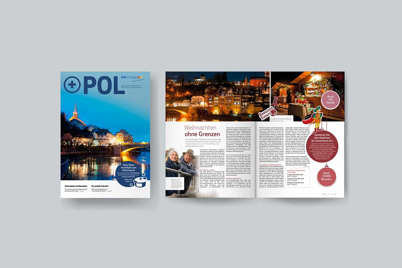 Energiemagazine, Pluspol