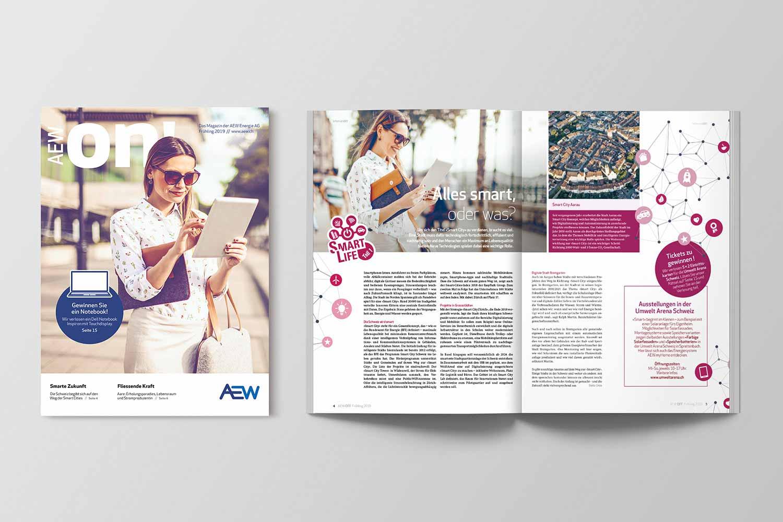 Energiemagazine, AEW ON! Frühjahr 2019