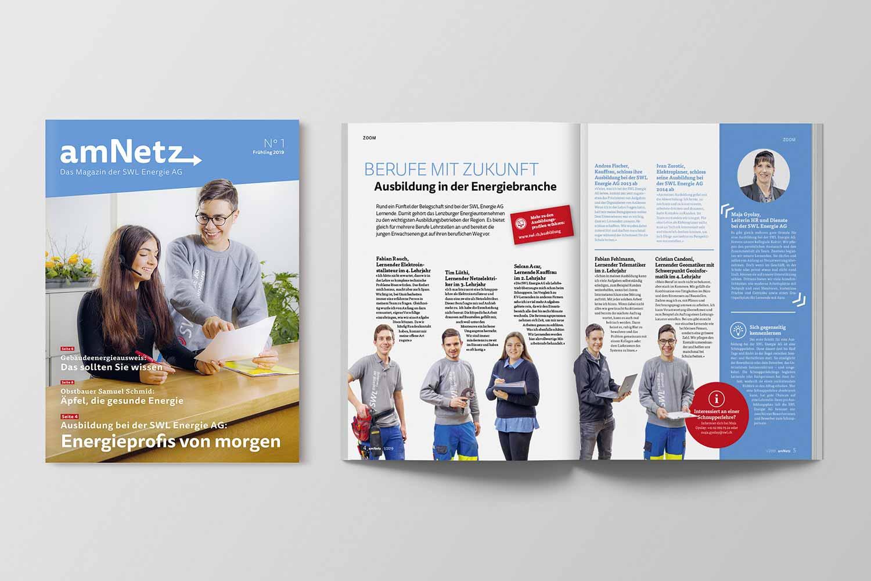 Energiemagazine, amNetz Frühjahr 2019