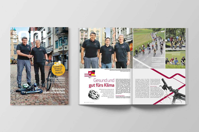 Energiemagazine, EKS ON! Frühjahr 2019