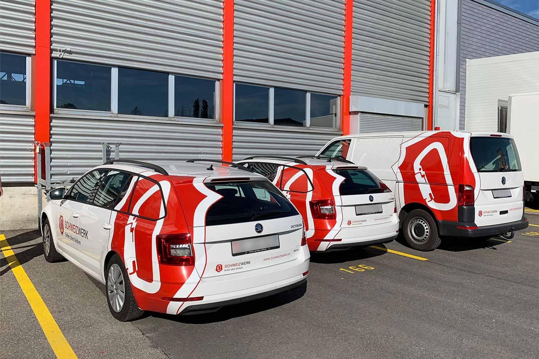 Schweizwerk Fahrzeugbeschriftung