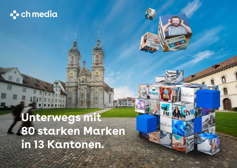 CH Media, Verkaufspräsentation, St. Gallen