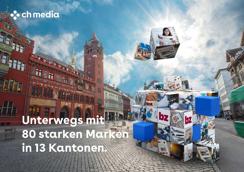 CH Media, Verkaufspräsentation, Basel