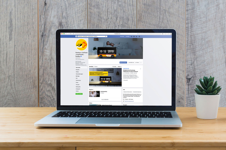PostAuto-Fahrplanwechsel Facebook