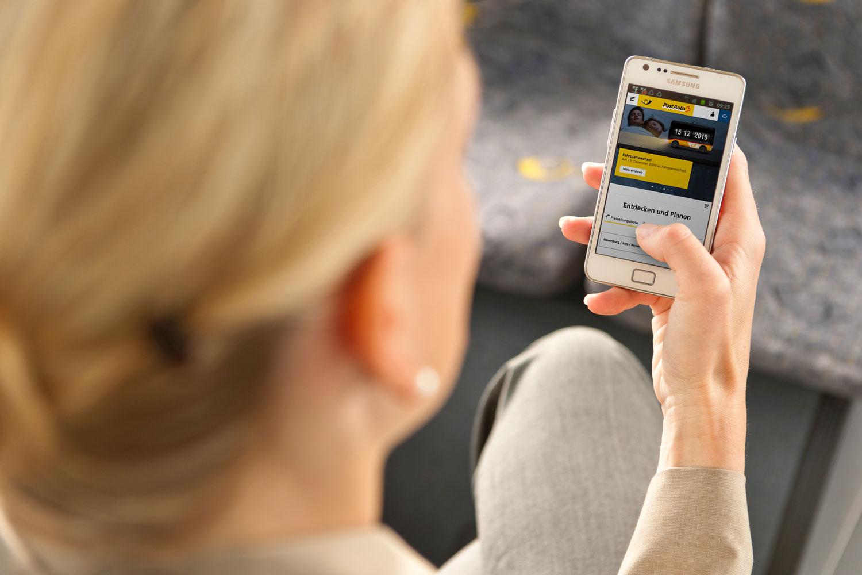 PostAuto-Fahrplanwechsel Mobile