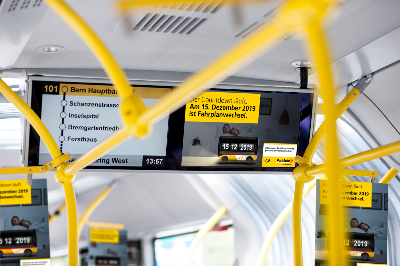 PostAuto-Fahrplanwechsel Screen