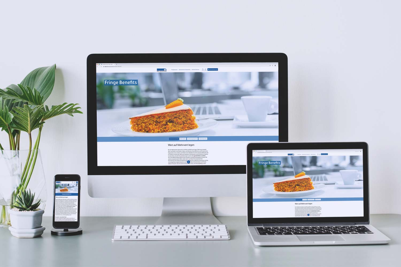 NAB Employer Branding, Website