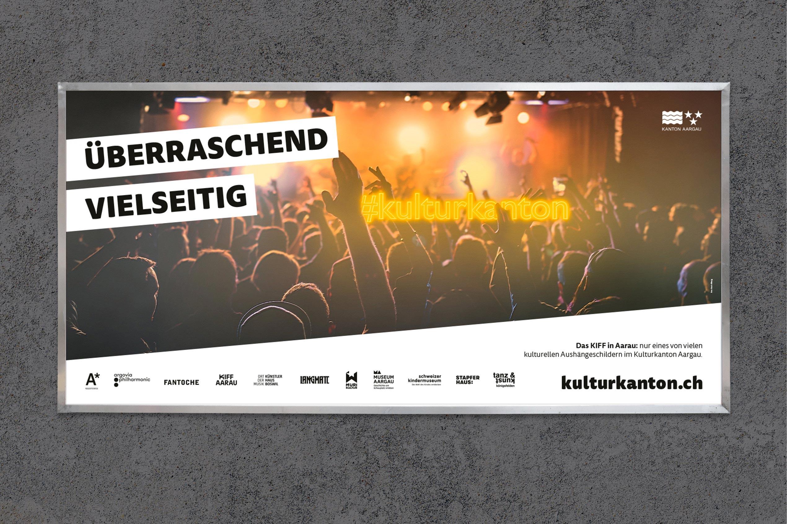 Kulturkanton, Plakat F12, KIFF