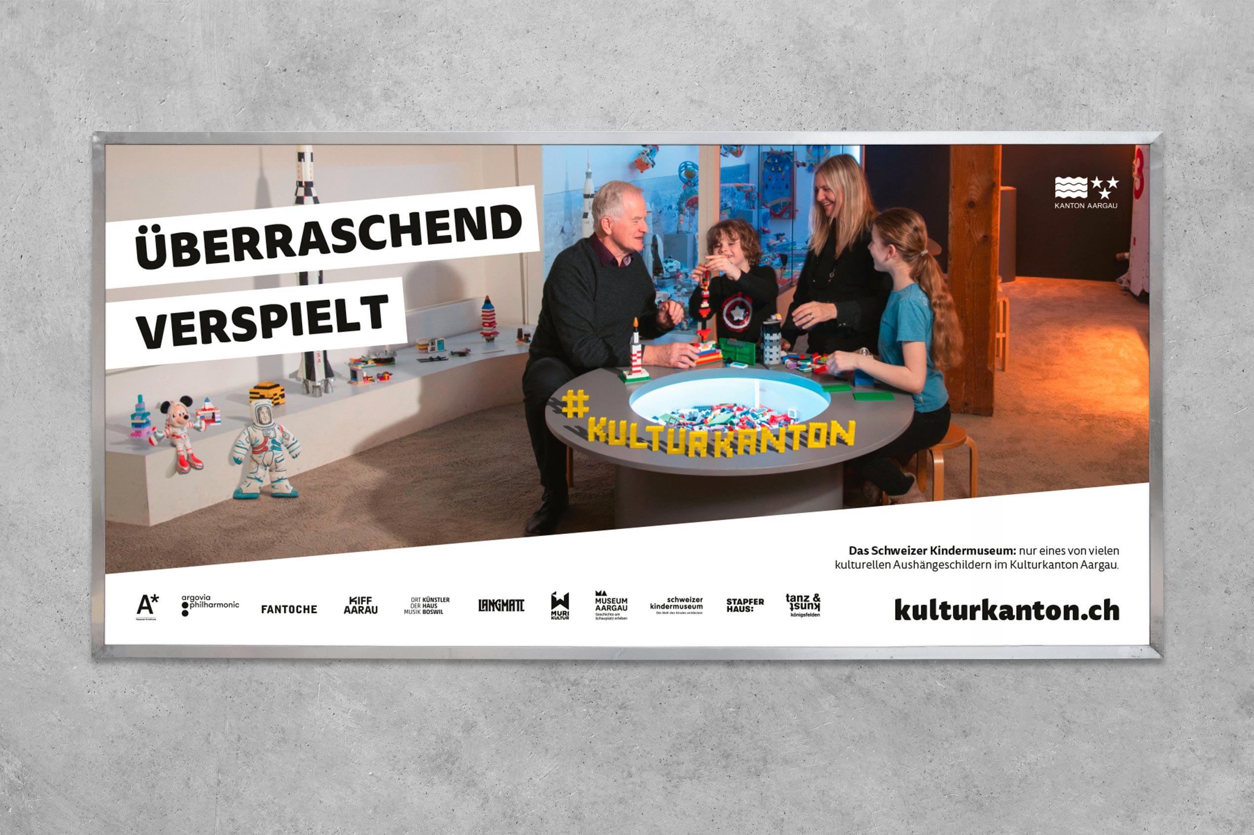 Kulturkanton, Plakat F12, Kindermuseum