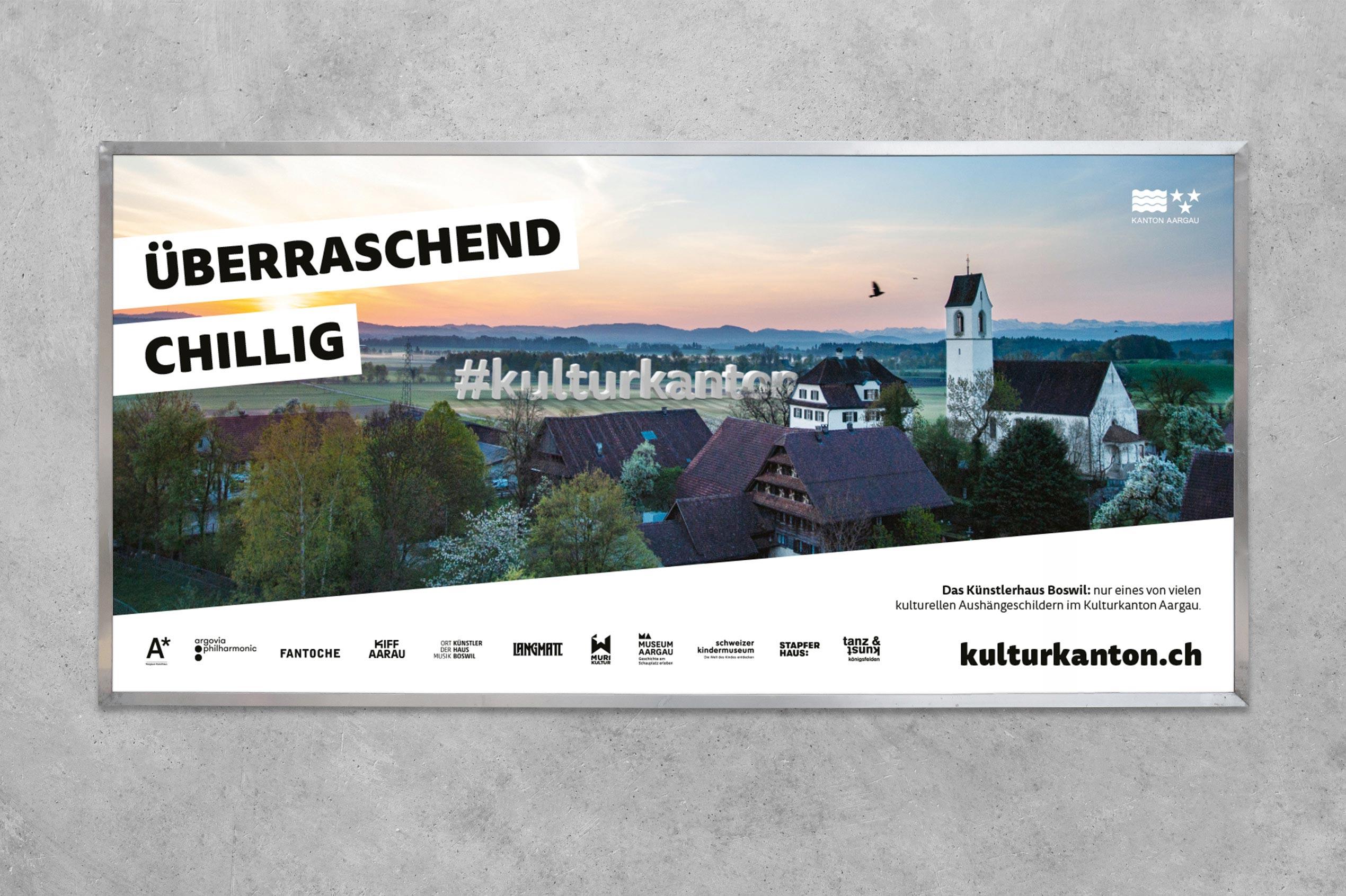 Kulturkanton, Plakat F12, Künstlerhaus