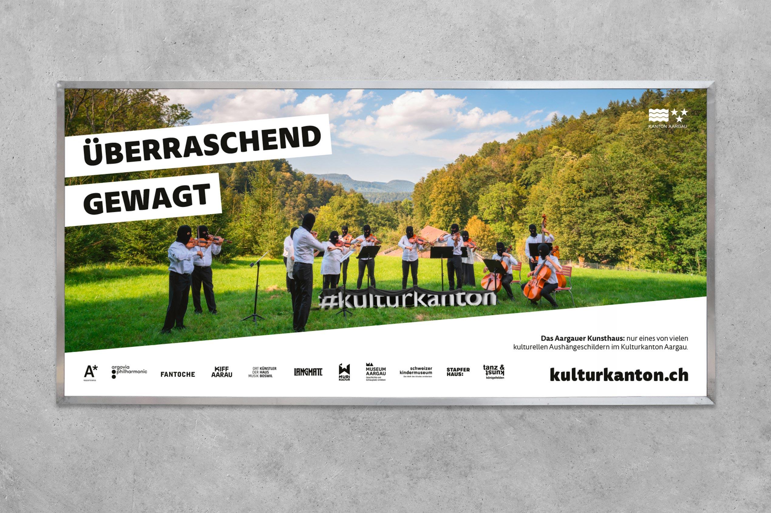 Kulturkanton, Plakat F12, Kunsthaus