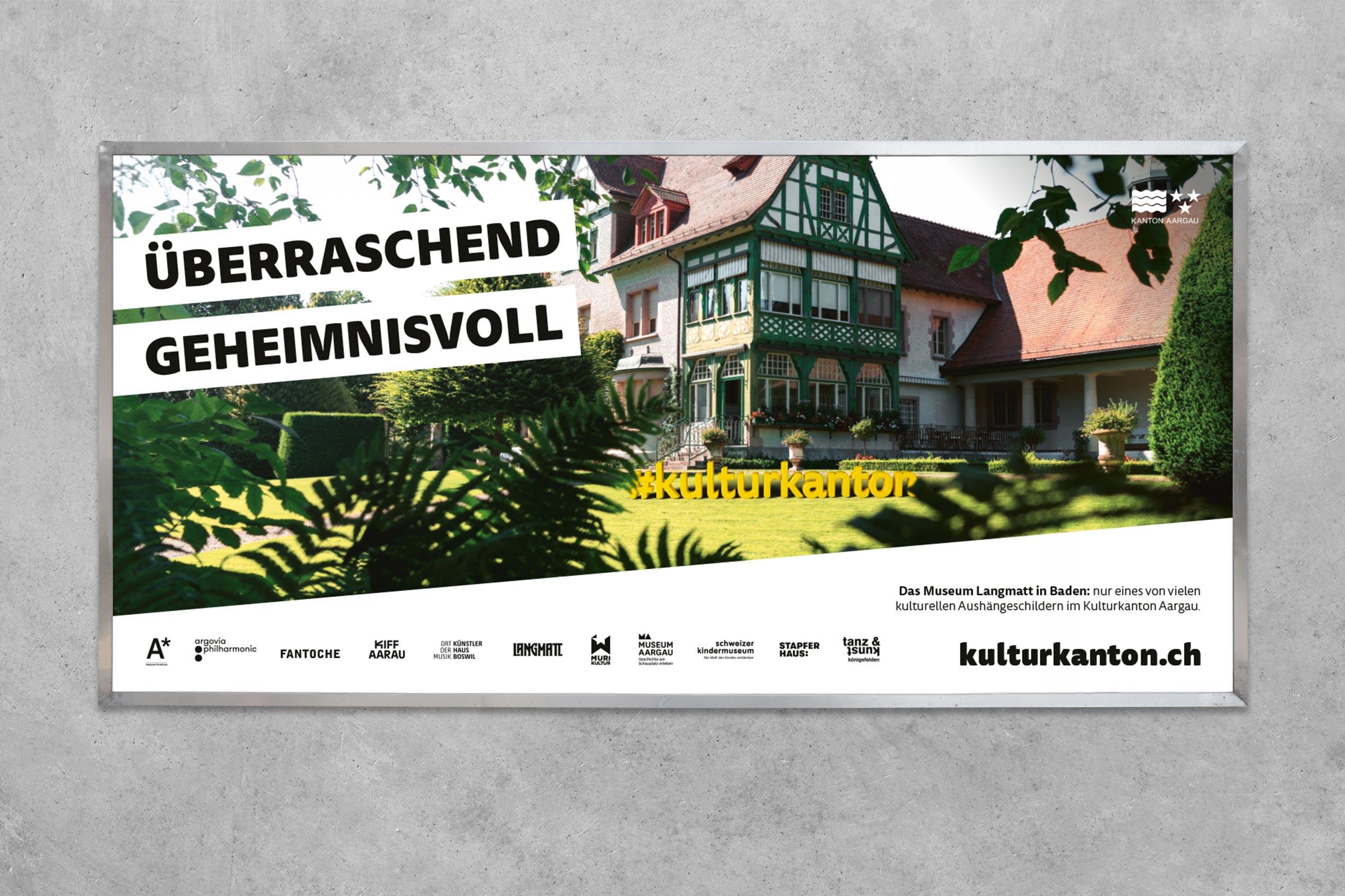 Kulturkanton, Plakat F12, Langmatt