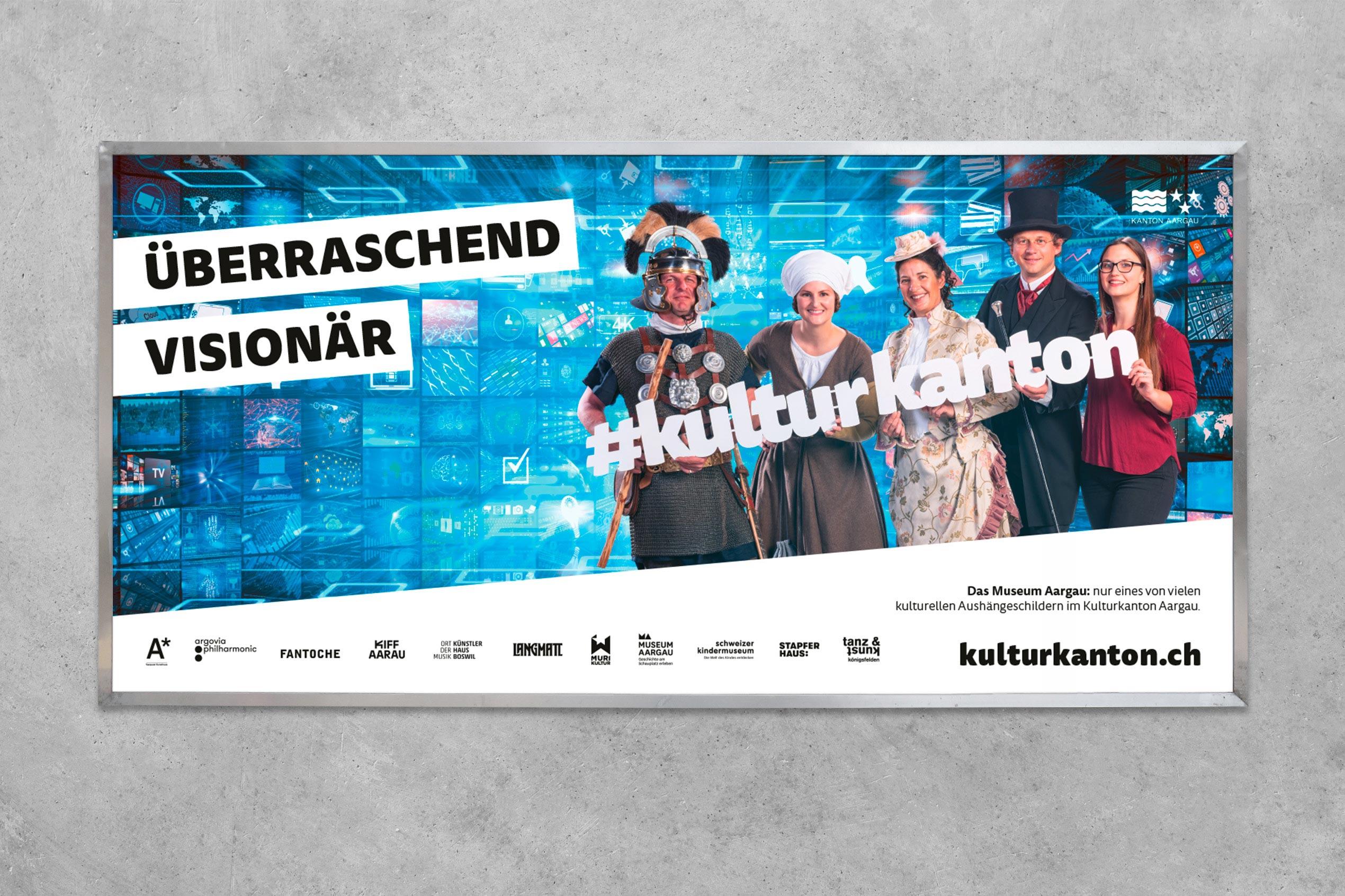 Kulturkanton, Plakat F12, Museum Aargau