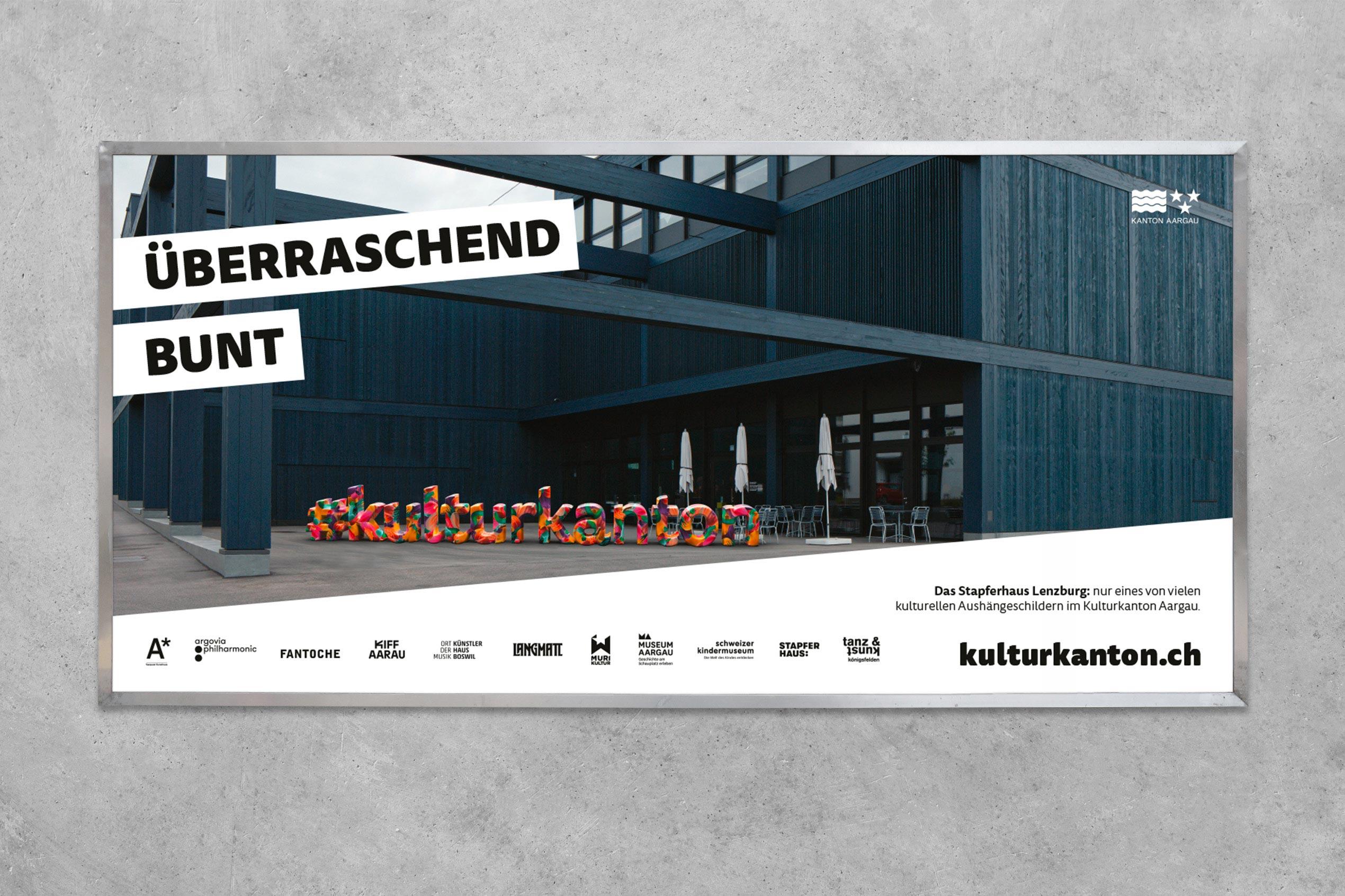 Kulturkanton, Plakat F12, Stapferhaus