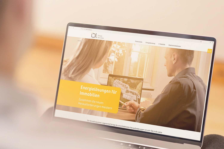 IBL Immobilien-Kampagne, Website